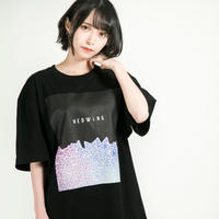 "HEDWiNG Tシャツ ""Stardust T-shirt"" / BLACK"