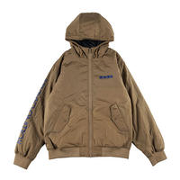 "【ROLLING CRADLE】フードジャケット ""SHOUT HOODED BOMBER JACKET"" / BEIGE"