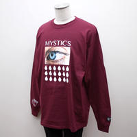 SLEEPING TABLET ロンT MISTICS [ LONG SLEEVE ] / MAROON