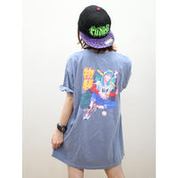 "ROLLING CRADLE Tシャツ ""M2K TEKNO GIRL TEE"" / Blue-jean"