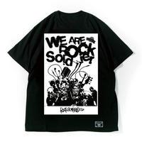 "ONION ROCK FESTIVAL × HEDWiNG ""W.A.R.S Big Shilhouette T-Shirt"""