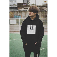 "SILLENT パーカ ""ILLNESS -Pullover-"" / BLACK"