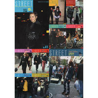 eBook- STREET magazine No.041 ~ No.050 set