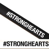 #STRONGHEARTSリストバンドAタイプ(白黒セット)