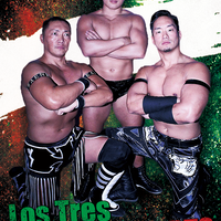 Los Tres #STRONGHEARTSステッカー