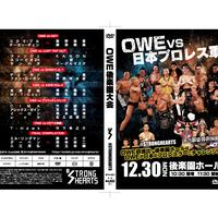 OWE後楽園ホール& ACTION 1アゼリア大正大会DVD2枚セット