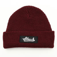 Signature Patch Beanie (Burgandy)