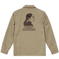 Smooth Operator Work Jacket (Beige) Art by 2YANG