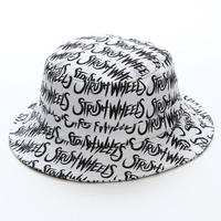 Strush x Delta Hand Made Bucket Hat (White)
