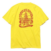 Temple of The Speed Tee Shirts (Yellow) Art by 2YANG