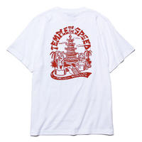 Temple of The Speed Tee Shirts (White) Art by 2YANG