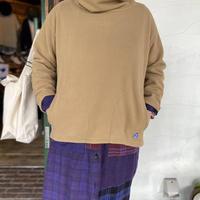 """【快晴堂】 """"シープフリースオフタートルTシャツ"""""""