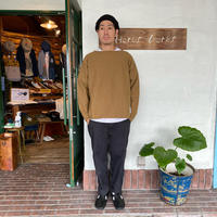 "【 H.UNIT】 ""Boiled wool cut off basque shirt"""