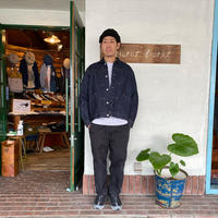 "【 H.UNIT】 ""Left hand denim work jacket"""