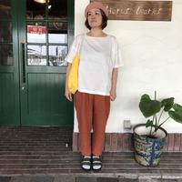【BROCANTE】キュプラリネンツイルバトーシャツ