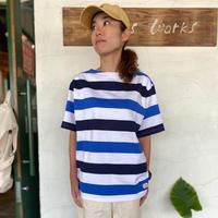 """【MACOBER】 """"ボーダーバスクTシャツ"""""""