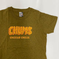 "【CHUMS】 ""cheddar cheese T-shirt"""