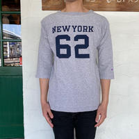 """【Champion】 """"MADE IN USA T1011 3/4 SLEEVE FOOTBALL T-SHIRT"""""""