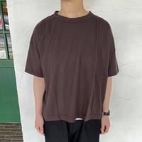 "【prit】 ""5分袖ワイドTシャツ"""