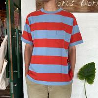 "【CHUMS】 "" Heavy Weight  Border Pocket T-Shirt"""