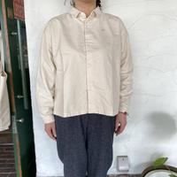 "【grin】 ""コットンネルボックスシャツ"""