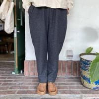 """【natural laundry】 """"ウールリング圧縮スリムドローパンツ"""""""