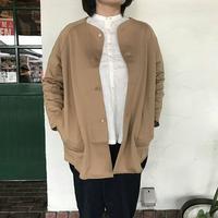 【NARU】コンパクト裏毛ジャケット