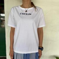 "【7th GATE】 ""C'est la vieプリントTシャツ"""
