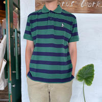 "【CHUMS】 "" Booby  Border Polo Shirt"""