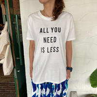 """【u.m.i】 """"セットインTシャツ(ALL YOU NEED IS LESS)"""""""