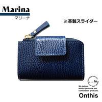 【...to®・Onthis】スマートキーも入るマルチウォレット・Marina(マリーナ)<革製スライダー>