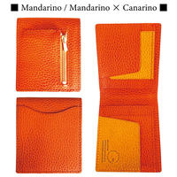 【...to・Foggy】『薄さと美しさ』を兼ね備えた財布・Mandarino(マンダリーノ)