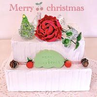 Christmasクレイケーキ