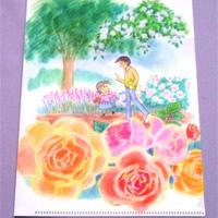 『小さな恋のものがたり』クリアファイル(バラの散歩道)