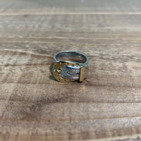Hermès Vintage(エルメス ヴィンテージ) Sterling Silver & 18k Gold Ring【VH12】(N)