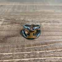 Hermès Vintage(エルメス ヴィンテージ) Sterling Silver & 18k Gold Ring【VH17】(N)
