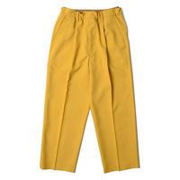 UNITUS(ユナイタス) Easy Dress Wide Pants Yellow【UTSFW21-P08】(N)