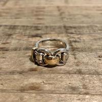 Hermès Vintage(エルメス ヴィンテージ)Sterling Silver & 18k Gold Ring【VHSS20_008】(N)
