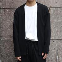 NOW HAW ノウハウ twilight thermal w face cardigan Black【P-TW22-O】(N)
