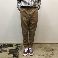 UNITUS(ユナイタス) SS18 Peg Top Pants Beige【UTSSS18-P05】