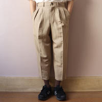 UNITUS(ユナイタス) SS20 Cropped Pants Beige【UTSSS20-P01】(N)
