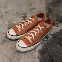 CONVERSE コンバース CHUCK TAYLOR ALL STAR '70 SUEDE-OX  CAMPFIRE ORANGE/BLACK/EGRET 166217C CT70 (N)