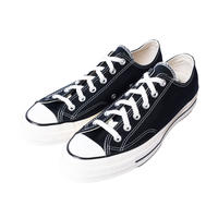 CONVERSE   CHUCK TAYLOR ALL STAR '70-OX  BLACK/BLACK/EGRET 162058C  CT70(N)