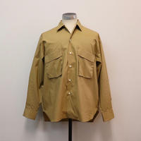UNITUS(ユナイタス) SS19 Patch and Flap Shirt Beige【UTSSS19-S05】(N)