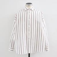 UNITUS(ユナイタス) SS20 Dolman Sleeve Shirt White × Brown【UTSSS20-S07】(N)