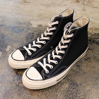 CONVERSE コンバース CHUCK TAYLOR ALL STAR '70-HI BLACK/BLACK/EGRET 162050C CT70(N)