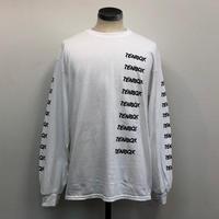 2018.9.25(火)PM12時より販売開始【TENBOX】FW18  T TENBOX LOGO L/S WHITE