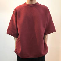 crepuscule クレプスキュール  Tuck Knit 1801-009 Red