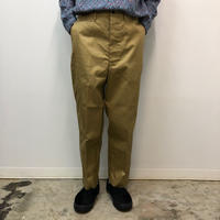 UNITUS(ユナイタス) SS18 Center Darts Pants (Chino) Beige【UTSSS18-P04】(N)
