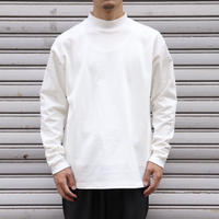 UNITUS(ユナイタス) Mock Neck Long T Shirt White【UTSFW20-CS01】(N)